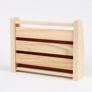 木曽ヒノキ製・木枠(ラジウム温水器用・ニューバージョン)