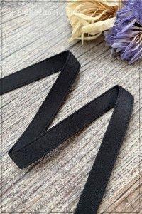 両面サテンリボン ブラック(9mm巾×295cm)