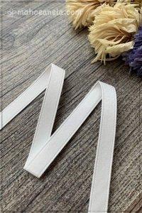 両面サテンリボン ホワイト(9mm巾×295cm)
