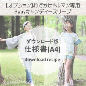 【ダウンロード版】キャンディースリーブ仕様書 (download-recipe)