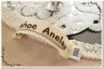 MahoeAnela ブランドネーム(横長)5枚セット