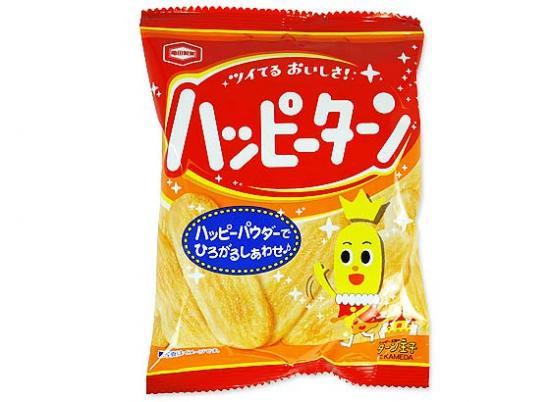 お菓子のまとめ売り・米菓・せんべい系のお菓子 亀田 32g ハッピーターン (10個入)
