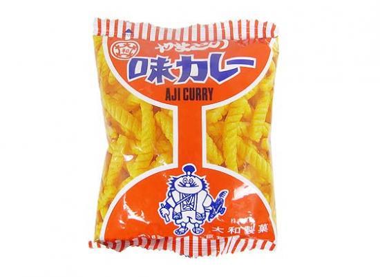 駄菓子のバラ売り・スナック系の駄菓子 やまと 味カレー(バラ売り)