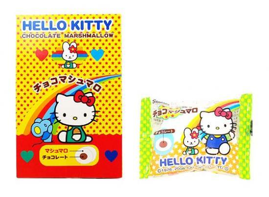 駄菓子のまとめ買い・飴・チューイングの駄菓子  エイワ キティのチョコマシュマロ (30袋入)