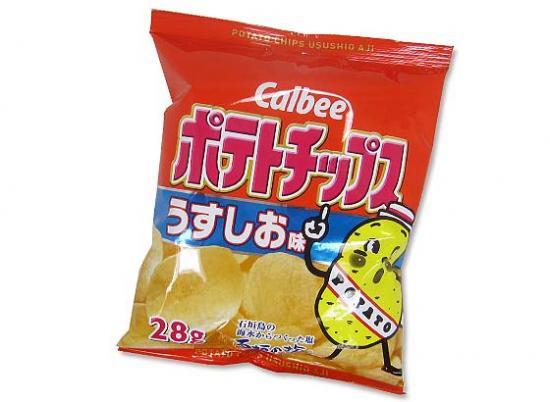 【カルビー】28gポテトチップス(24個入)