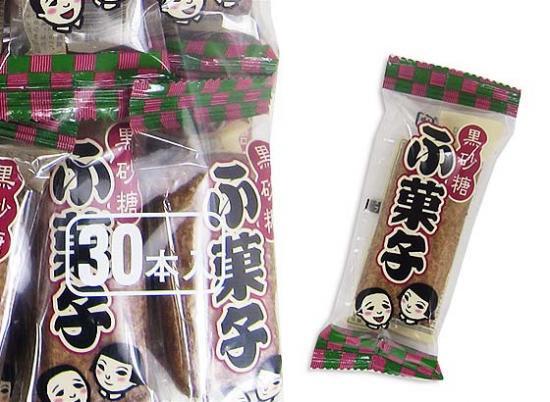 駄菓子のまとめ買い・カステラ・ビスケット系の駄菓子 やおきん ふ菓子(30個入)