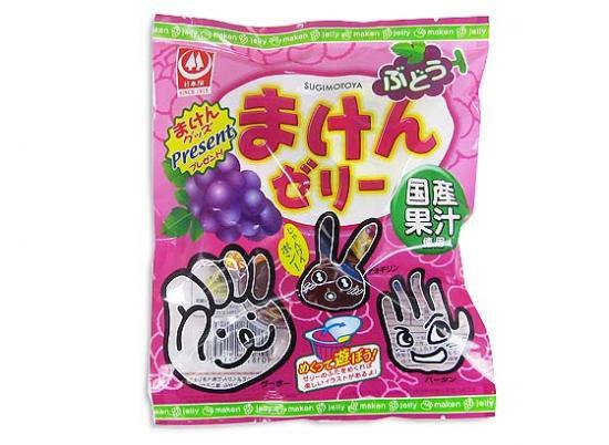 ゼリー系お菓子 杉本 7個まけんゼリーぶどう(20袋入)