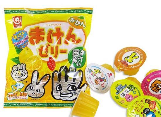 ゼリー系のお菓子 杉本屋 7個まけんゼリーみかん(20袋)