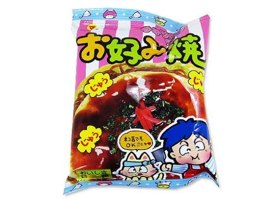 【駄菓子のバラ売り・松山】 テキサスコーン お好み焼き(バラ売り)