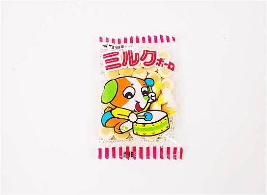 【駄菓子のバラ売り・スナック系駄菓子】イワモトのミルクボーロ(バラ売り)【岩本】