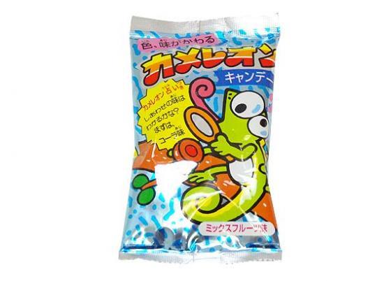 【駄菓子のバラ売り・キャンディ系の駄菓子】カメレオンキャンディ(バラ売り)
