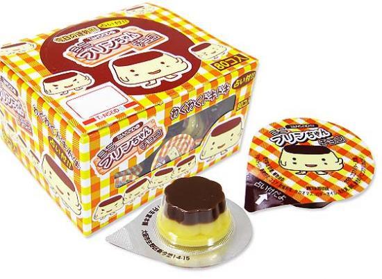 駄菓子のまとめ買い・チョコ系の駄菓子 丹生堂 ミニ プリンチョコ 占い付 (80個入り)