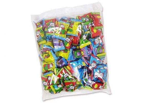 クリスマス限定のお菓子・お菓子のまとめ買い クリスマスキャンディ 1kg 【キッコー】