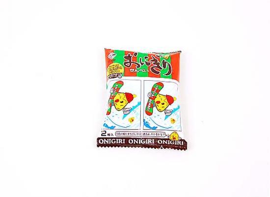 【駄菓子のバラ売り・おかき(あられ・おかき餅)系の駄菓子】 おにぎりせんべい 2枚入 (バラ売り) 【マス…