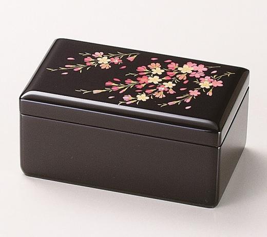 会津塗オルゴール宝石箱 さくらさくら