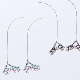 Beads braid pierce 【60%OFF】