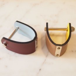 Two tone calf bracelet 【60%OFF】