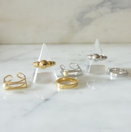 Pearl 3 of ring  【60%OFF】