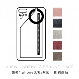 <img class='new_mark_img1' src='//img.shop-pro.jp/img/new/icons8.gif' style='border:none;display:inline;margin:0px;padding:0px;width:auto;' />Ajew cadena zipphone case (機種:iphone6/6s対応) 【即納商品】
