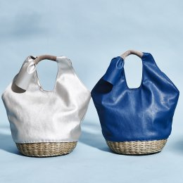<img class='new_mark_img1' src='//img.shop-pro.jp/img/new/icons32.gif' style='border:none;display:inline;margin:0px;padding:0px;width:auto;' />Cosy basket bag 【60%OFF】