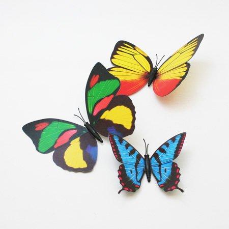 【スペイン雑貨】 蝶のマグネット