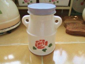 ミルクボトル (ローズ)