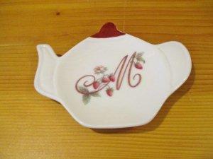 マニーレールドゥロココ 陶器 ティーバックトレイ