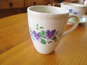 マニー two-tone ヴィオレット マグカップ