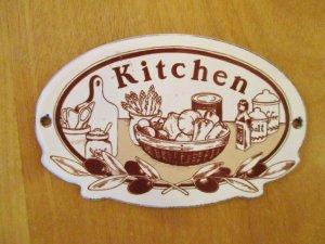 マニー ホーロードアプレートオーバル(キッチン)