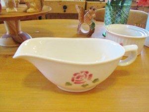 マニーローズ 陶器 パティスリーソースポット