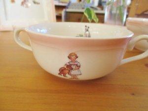 プチメゾン 陶器 マリアンヌ 両手付きカップ