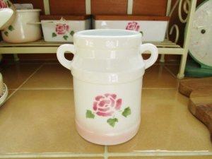 マニーローズ 陶器スプーンコンテナ