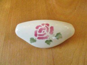 マニー インテリア・パーツ 陶器 カップ型ハンドル(ローズ)