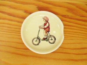プチメゾン 陶器 スプーンレスト(男の子)