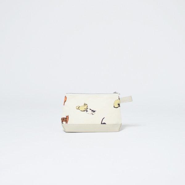 TOILETRY BAG MEDIUM PRINT【print】