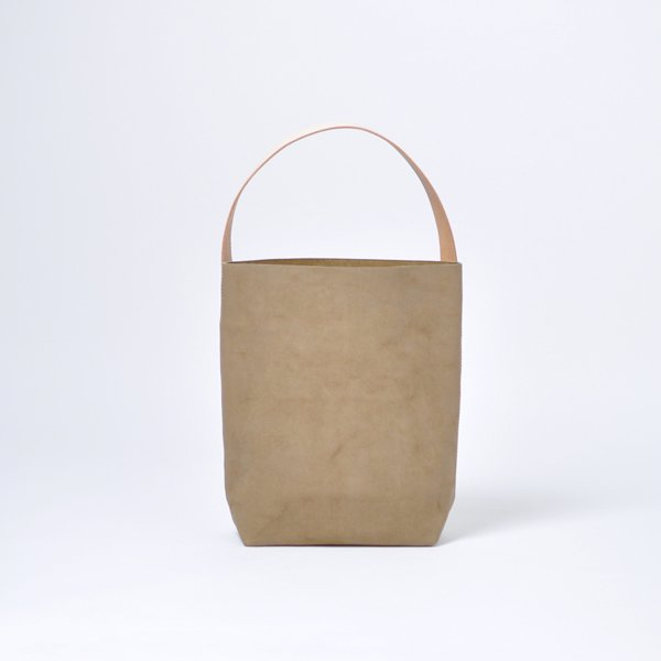 BAGUETTE TOTE WAX VELOR【leather】