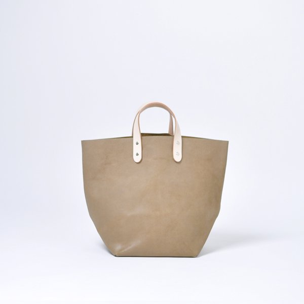 DELIVERY TOTE WAX VELOR【leather】