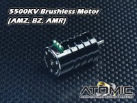 MO-039・RC Atomic 5500KV Brushless Motor (AMZ, BZ, AMR)