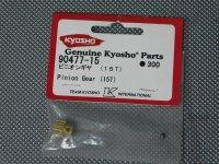 90477-15・京商製 ピニオンギヤー(15T)