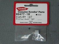 90477-18・京商製 ピニオンギヤー(18T)