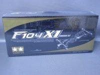 タミヤ製 ITEM84203 1/12電動フォーミラーカー F104 X1 シャーシキット