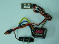 USED-0065・GM製 V4(YOKOMO) ブラシモーター用ESC(03-00063)