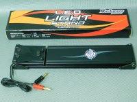 USED-0230・マッチモア製 LEDライトスタンド ブラック