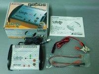USED-0254・ABCホビー製 AC/DC エキスパートチャージャー LifePo4 ライト