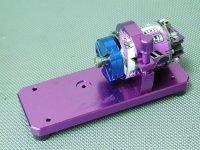 USED-0354・LUNA製 モータースタンド&ブラシスロッター付き