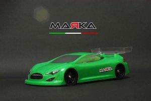 MRK-8022・GL RACING製 MARKA RACING MINI-Z RK-S RACING LEXAN BODY KIT (98MM W/B)