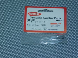 W6031・京商製 ピニオンギヤー(31T)