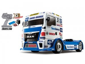 57904・タミヤ製 1/14RC XB TEAM HAHN RACING MAN TGS (TT-01シャーシ TYPE-E)