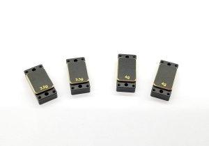 GLF-OP-015・GL Racing製 Brass Left/Right plates - (3.5gx2pcs & 4.0gx2pcs)