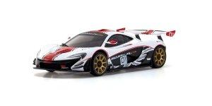 MZP235WR・京商製 ASC MR03RWD McLaren P1™ GTR ホワイト/レッド MZP235WR